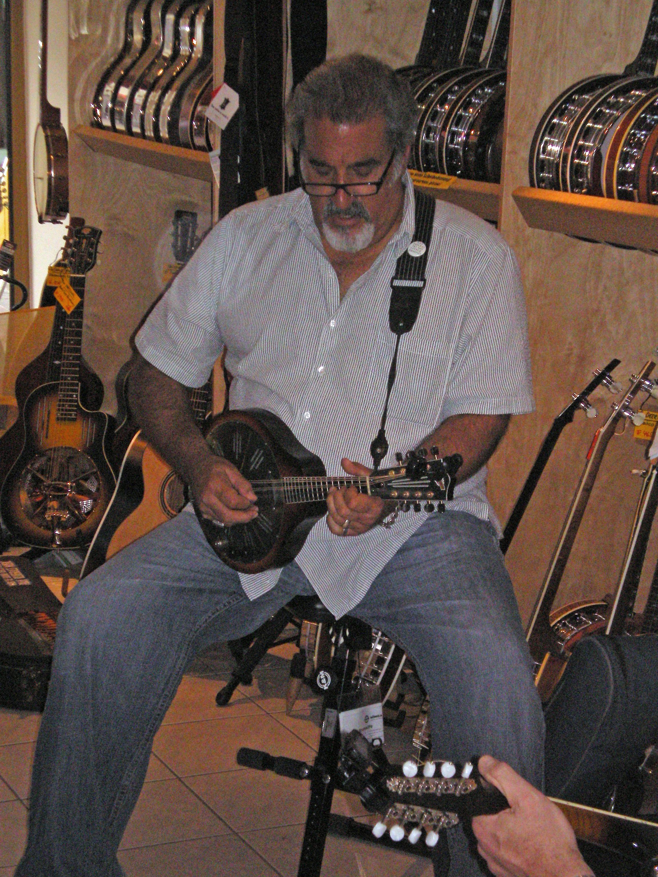 Mandolinen-Workshop mit Rich Del Grosso am 25. Juni 2013