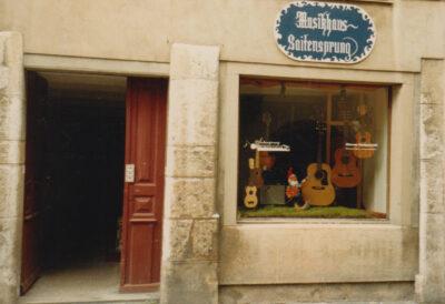 Musikhaus Saitensprung 1988