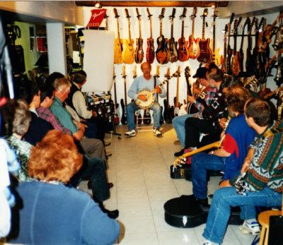 Bill Keith Banjo Workshop - wer weiss noch, wann das war?