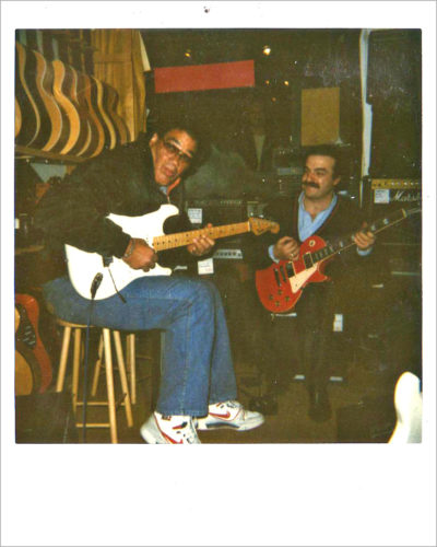 Louisiana Red & Pino Lonero 1988 (von Original Polaroid)